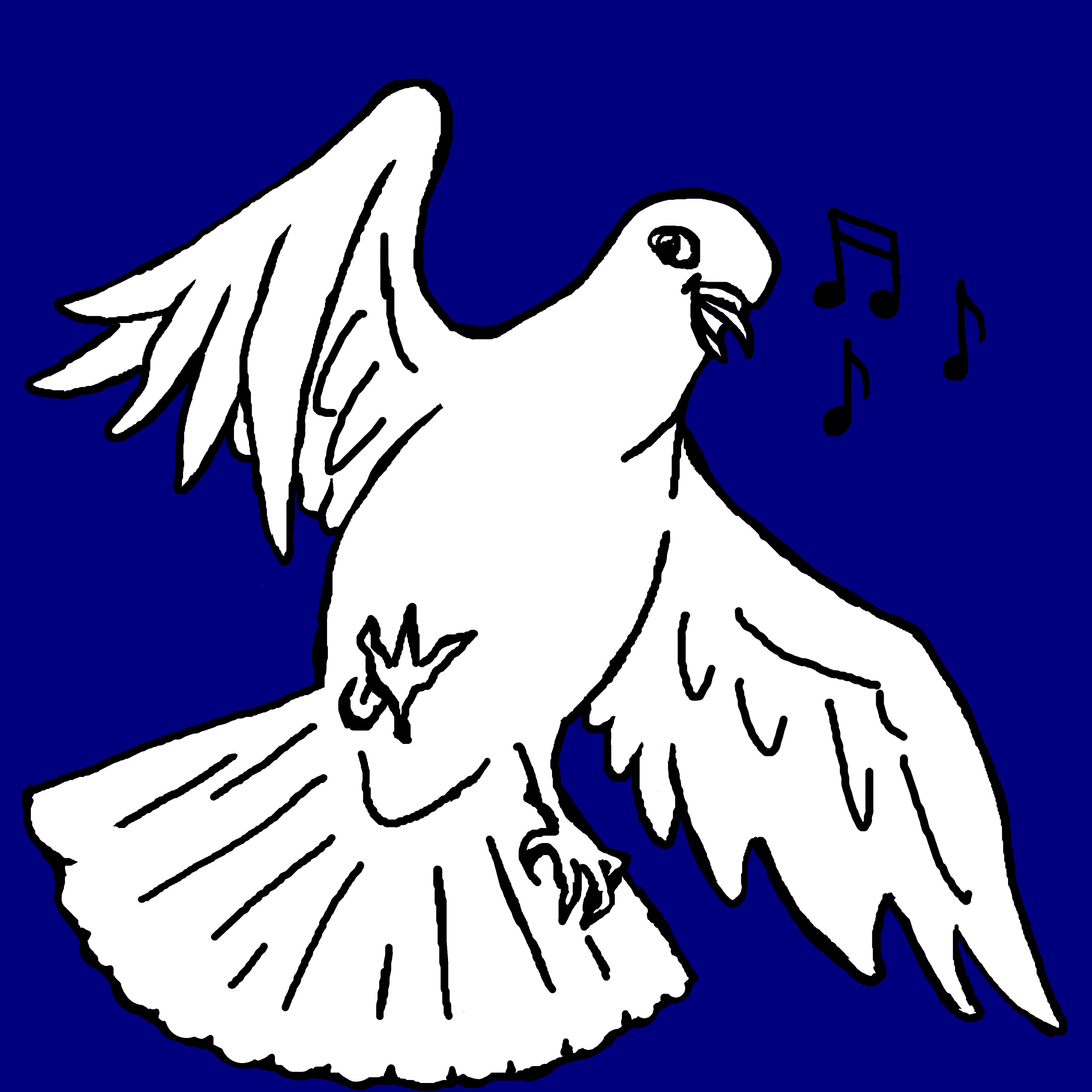 Logo Kinderchor Die bunten Tauben